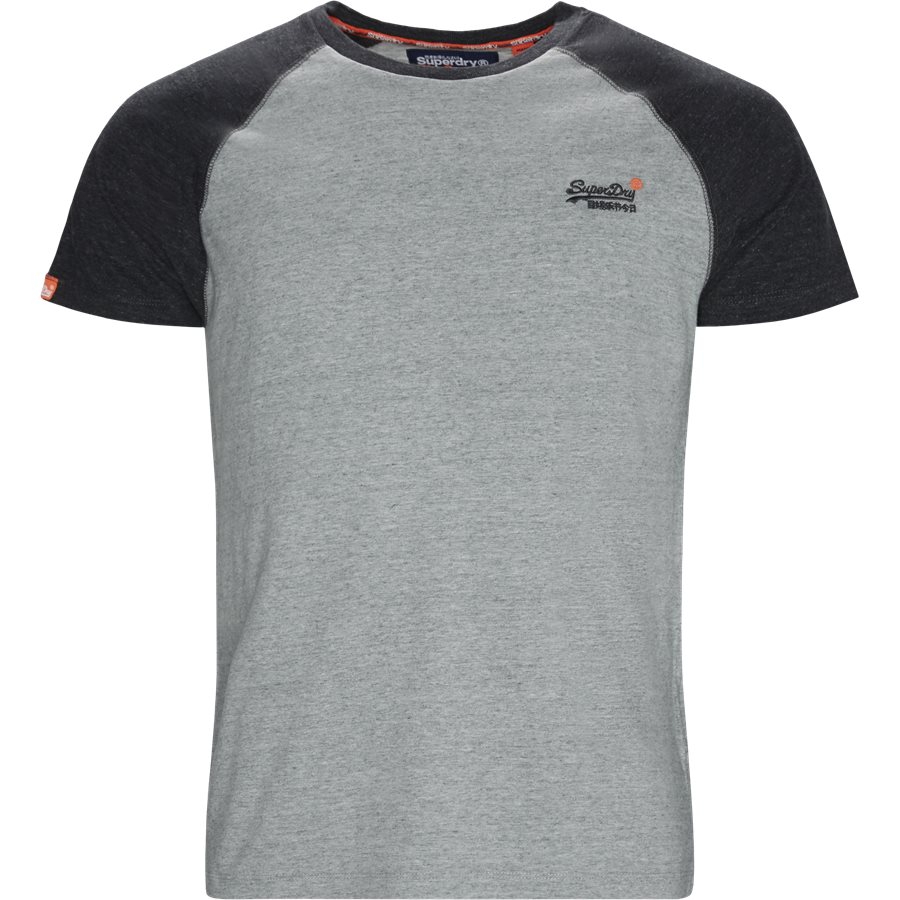 M1010 - M1010 T-shirt - T-shirts - Regular - GRÅ/KOKS SXT - 1